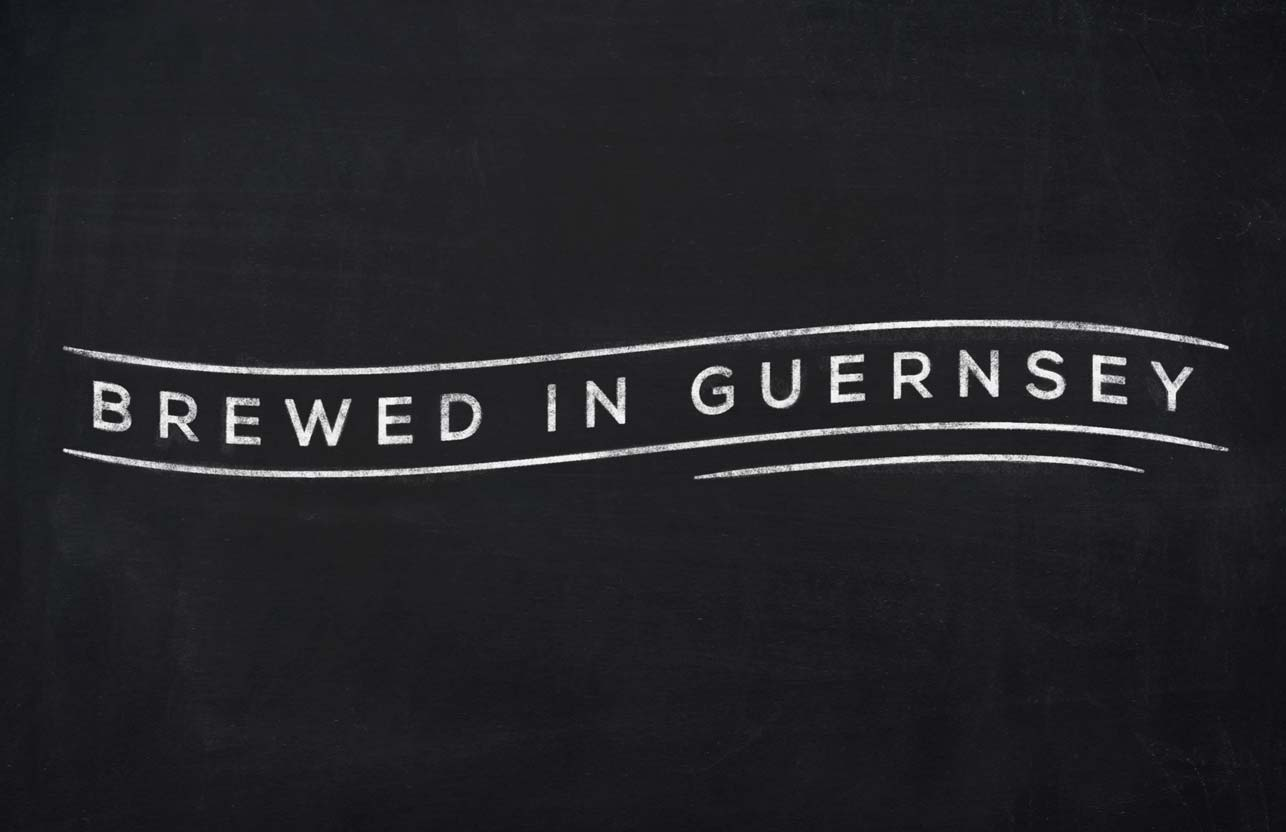 Brewed in Guernsey graphic