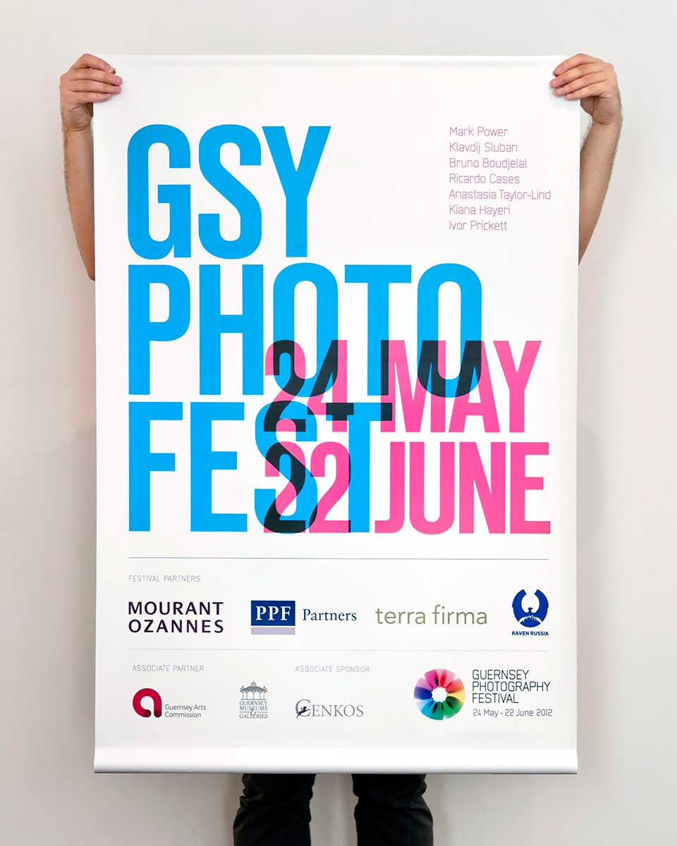 Guernsey Photography Festival poster