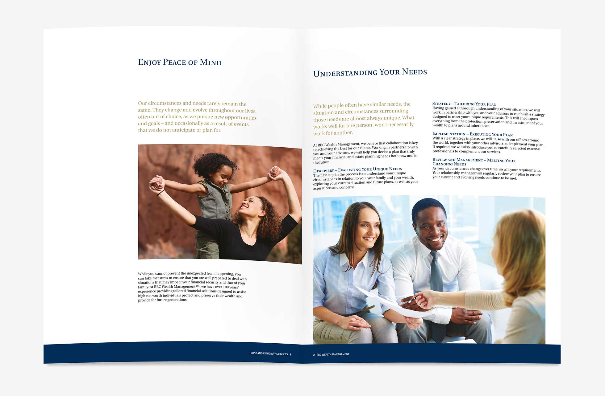 RBC brochure design
