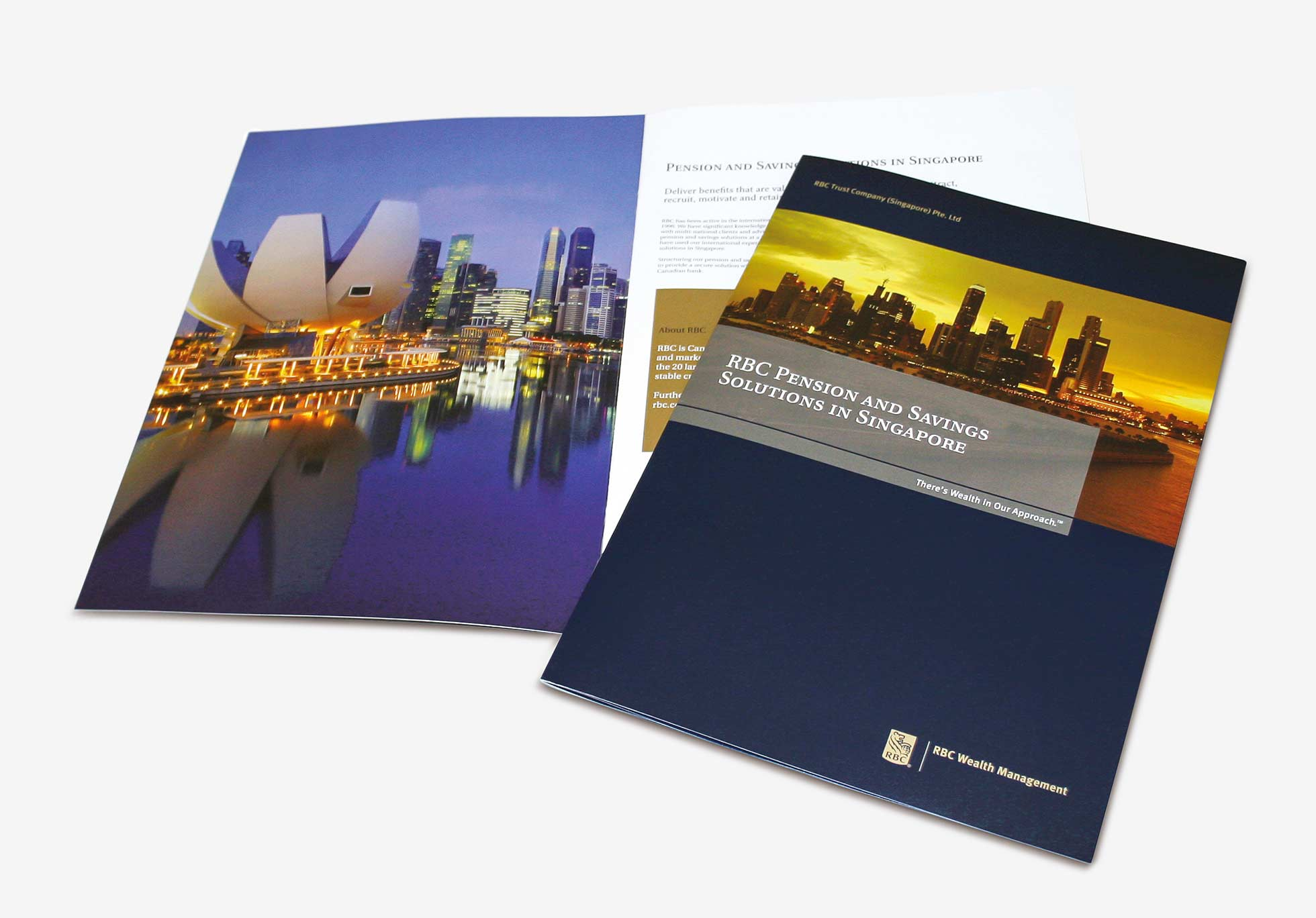 RBC pensions brochures