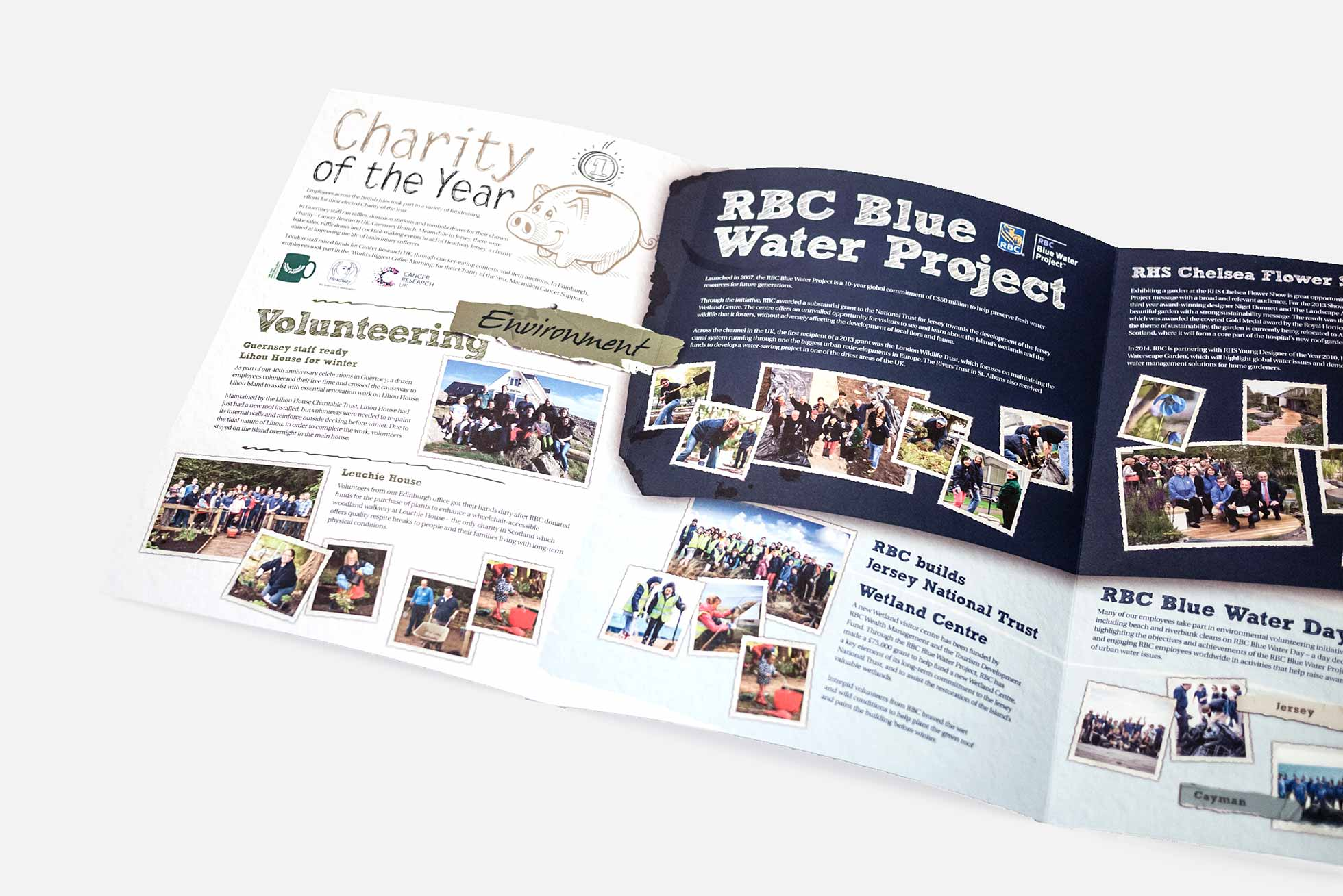 RBC Company magazine design