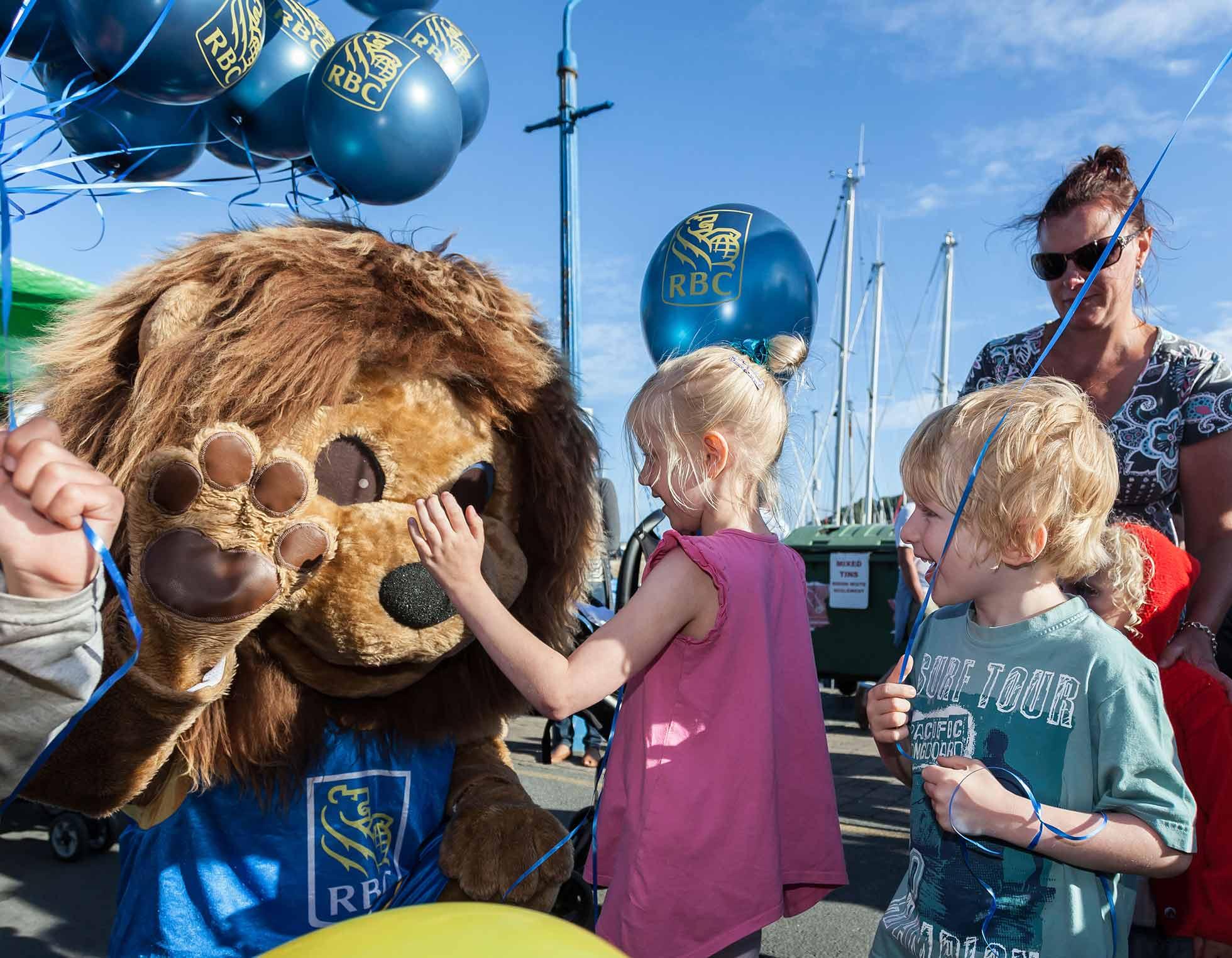 RBC leo lion mascot
